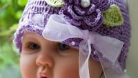 Tığ İşi Bebek Beresi