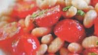 Kiraz Domates Salatası