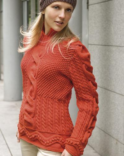 yeni trend 2011 kadın kırmızı kazak modelleri