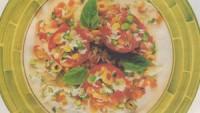 Domates Göbeğinde Pirinç Salatası