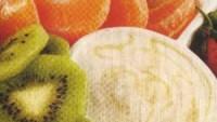 Yoğurt Soslu Meyve Tabağı