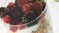 Müslili ve Meyveli Yoğurt Kup