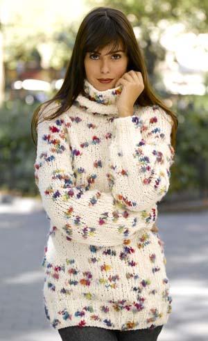 çiçek desenli kadın kazak modelleri