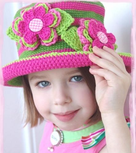 kız çocukları için şapka modelleri