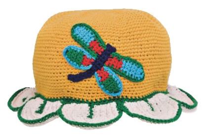 tırtıllı şapka