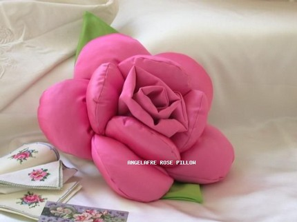 Подушки цветок своими руками фото