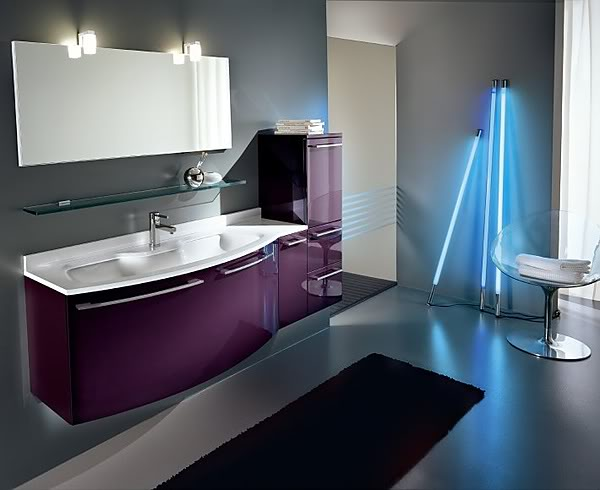 K banyolar yeni banyolar farkl banyolar banyo modelleri Cool bathroom lighting ideas