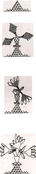 hanimeli21 Hanımeli iğne oyası modeli