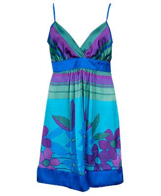 yazlık askılı bayan elbise