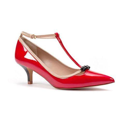 kirmizi rugan ayakkabi - Rugan bayan ayakkabı modelleri