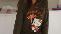2012 Hello Kityy Pijama Modelleri