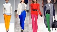 2012 Sonbahar Kış Pantolon Modelleri