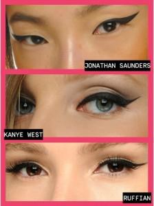 göz tipine göre eyeliner