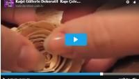 Kağıt Güllerle Dekoratif Kapı Çelengi Yapalım – Videolu Anlatım